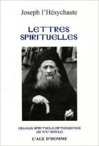 Vient de paraître : Joseph l'Hésychaste, Lettres spirituelles