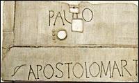 Mise à jour du tombeau de saint Paul