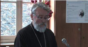 La séance solennelle 2012 de l'Institut de théologie orthodoxe Saint-Serge: la laudatio par le père Jivko Panev