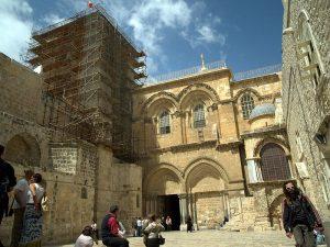 Déclaration sur la réouverture de la basilique du Saint-Sépulcre (Jérusalem)