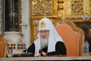 Le patriarche Cyrille de Moscou appelle à la cessation de la guerre civile sur l'espace de la Russie historique