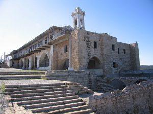 800px-Apostolos_Andreas_Monastery_seaside