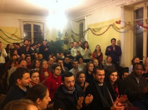 Une salle comble pour le concert de Noël