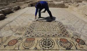 Mideast Israel Ancient Monastery