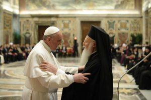 Le pape François à l'Eglise orthodoxe: «les conditions sont réunies pour rétablir la pleine communion de foi»