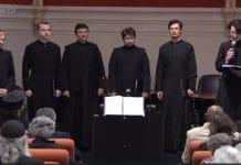 Concert de chants orthodoxes par le choeur du Séminaire orthodoxe russe en France