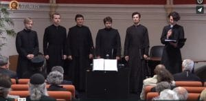 Concert de chants orthodoxes par le choeur du Séminaire orthodoxe russe en France