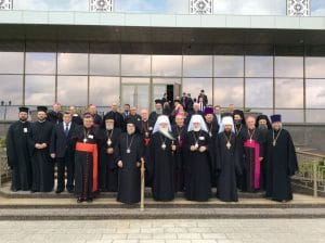 L'archevêque Job de Telmessos au IVe forum orthodoxe-catholique à Minsk