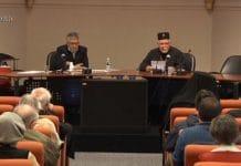 Mgr Stéphane de Tallinn et de toute l'Estonie et Carol Saba : « Face aux défis du temps présent : quelle édition orthodoxe ? »