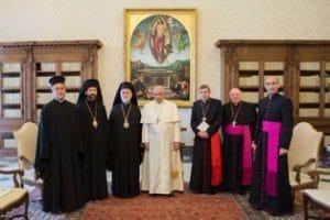 L'archevêque Job à la fête patronale de l'Église de Rome