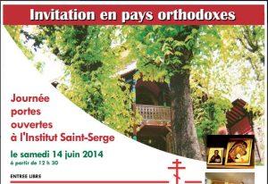 Journée portes ouvertes à l'Institut Saint-Serge le samedi 14 juin