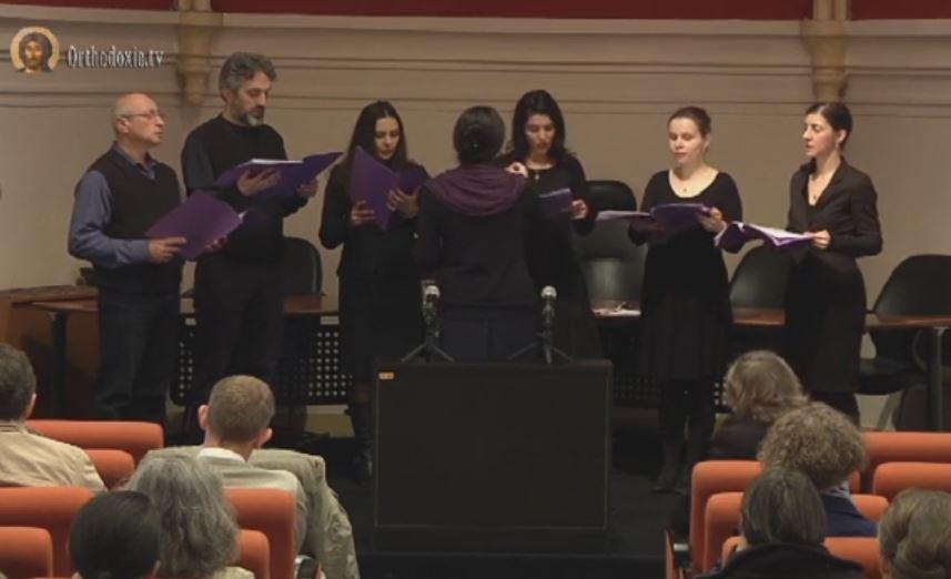 Concert de chants orthodoxes par le choeur Saint-Siméon