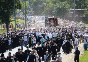 Russie: des dizaines de milliers de pèlerins se sont rendus en procession jusqu'à la laure de la Trinité-Saint-Serge