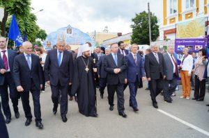 Le métropolite Hilarion de Volokolamsk à l'ouverture du festival international «Unité slave – 2014»