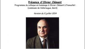 Un colloque consacré à Olivier Clément du 11 au 13 août à Fenouillet
