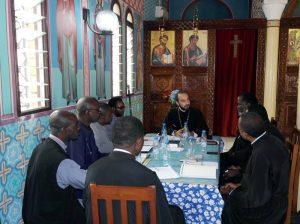 Assemblée du clergé du diocèse orthodoxe de Brazzaville et du Gabon