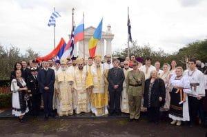 Liturgie panorthodoxe à Melbourne à l'occasion du centenaire de la Première guerre mondiale