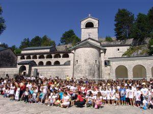 XVème assemblée de la jeunesse orthodoxe du Monténégro à Cetinje