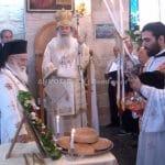 Le patriarche de Jérusalem Théophile III a célébré la liturgie en la paroisse orthodoxe arabophone du prophète Élie à Tarchira, qui fête son centenaire