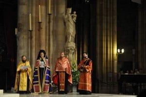 Vêpres orthodoxes à Notre-Dame de Paris, dimanche 5 octobre