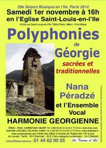 Des polyphonies de Géorgie à Paris