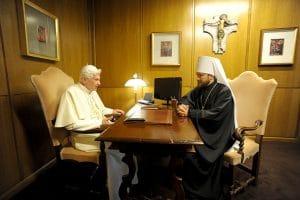 Le président du DREE a rencontré le pape émérite Benoît XVI et l'ambassadeur de Russie au Vatican