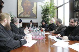 Réunion ordinaire de la commission inter-conciliaire de l'Église orthodoxe russe chargée des questions de droit canon