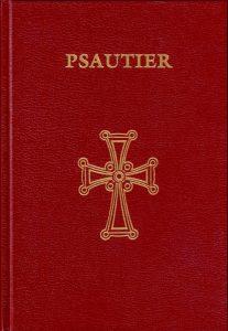 Parution d'une nouvelle traduction du Psautier