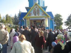 Le mouvement ultranationaliste « Pravy Sektor » s'est emparé d'une église orthodoxe ukrainienne dans la région de Ternopol