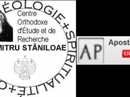 Calendrier des cours de l'Institut Dumitru Staniloae