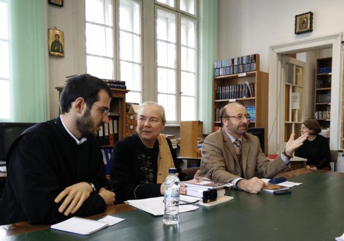 Présentation du livre «Histoire de l'Eglise orthodoxe en Europe occidentale au 20e siècle» en Bulgarie