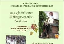 Au profit de l'Institut Saint-Serge