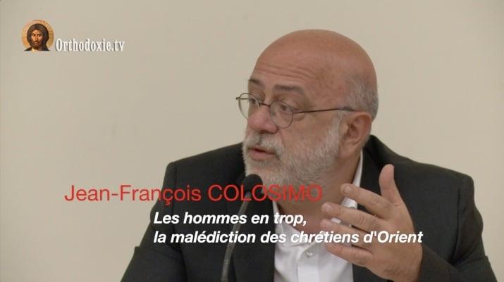 Une conférence de Jean-François Colosimo sur son livre consacré aux chrétiens d'Orient