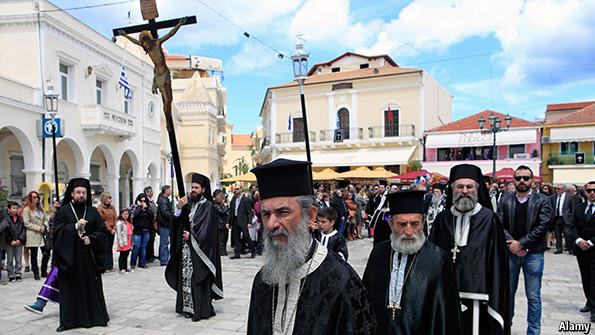 Un article du magazine « The Economist » évoque la séparation de l'Église et de l'État en Grèce en cas de victoire du parti « Syriza »