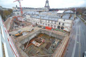 Une webcam pour suivre l'évolution du chantier du nouveau centre cultuel et culturelle orthodoxe russe à Paris