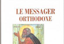 "Parution du n°157 du ""Messager orthodoxe"""