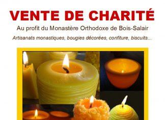 Vente de charité au profit du monastère orthodoxe de Bois-Salair (anciennement à Godoncourt)
