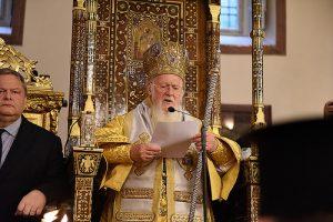 Discours du patriarche œcuménique Bartholomée adressé au pape François lors de la divine liturgie célébrée à l'occasion de la fête de l'apôtre André en l'église patriarcale (30 novembre)