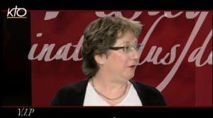 Hélène Bléré dans l'émission «V.I.P. – Visages inattendus de personnalités» de KTO