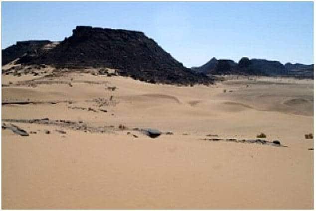 Une forêt de croix gravées dans le désert d'Arabie saoudite