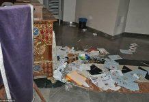 Une église orthodoxe a été saccagée à Haïfa