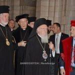Visite du patriarche œcuménique Bartholomée en Belgique et au Luxembourg