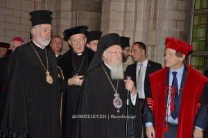 La visite du patriarche Bartholomée en Belgique et au Luxembourg