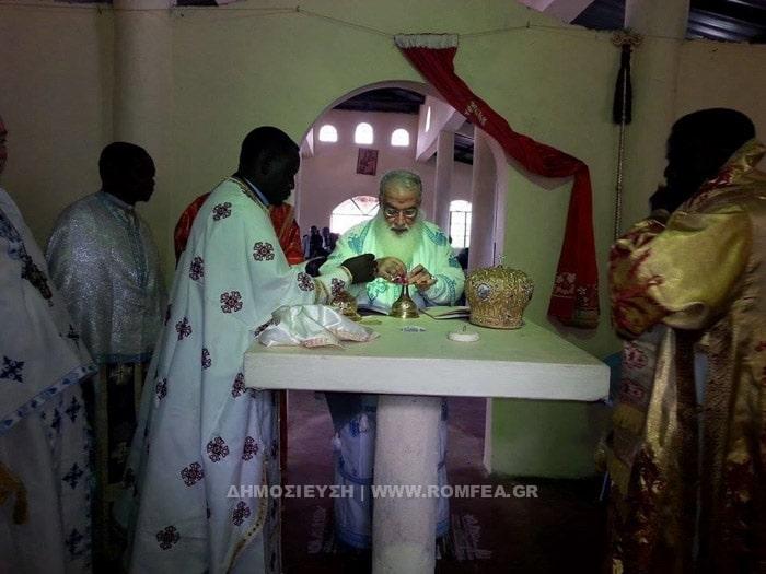 Bénédiction de la première église orthodoxe dédiée à saint Germain d'Alaska au Kenya