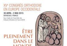 Le XVe congrès orthodoxe en Europe occidentale (Bordeaux du 30 avril au 3 mai)