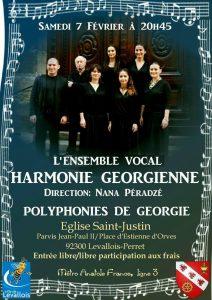 Un concert de l'ensemble Harmonie géorgienne