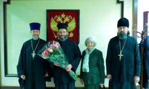 L'archevêque d'Ohrid Jean est arrivé en Russie
