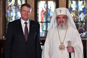Le président roumain a rendu visite au Patriarcat à Bucarest