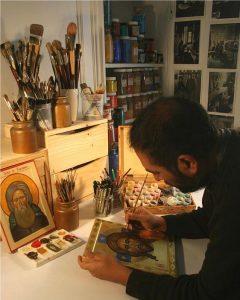 RCF : une émission sur Georges Farias et son atelier d'iconographie
