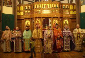 Liturgie commune de toutes les paroisses orthodoxes de Strasbourg pour le Dimanche de l'orthodoxie
